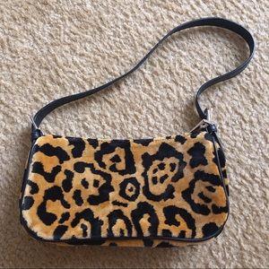 Topshop leopard shoulder bag